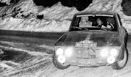 Rallye Monte Carlo 1969 - Coupe des Dames und 6. Platz Gesamt