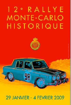 12. Rallye Monte-Carlo Historique: Andy Warhol inspirierte Drucksorten in allen Farben