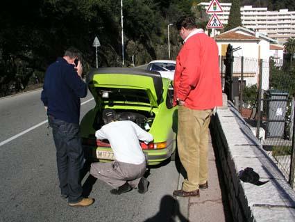 Zündspule - 1. Auftritt in Monte-Carlo