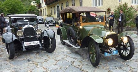 Zwei sehenswerte Klassiker - Austro Daimler