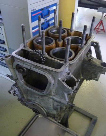 The engine block needed only honing and lighter pistons