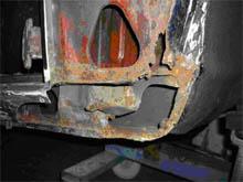 Lancia 2000 Coupé: Rost