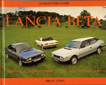 Lancia-Literatur: Lancia Beta