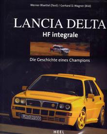 Lancia-Literatur: Lancia Delta HF integrale