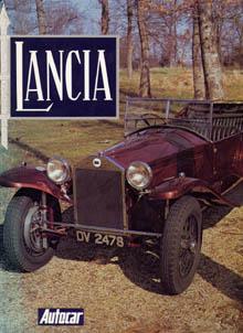 Lancia-Literatur: Autocar