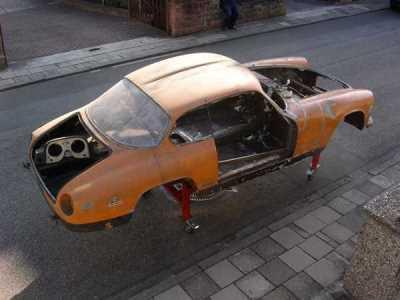 Flaminia Sport Zagato Chassis