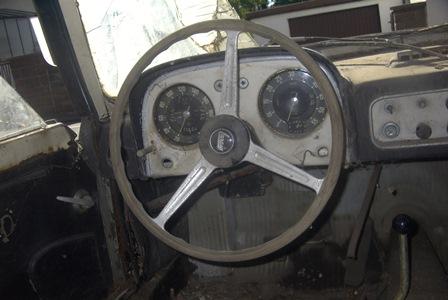 Flaminia Sport Zagato Cockpit
