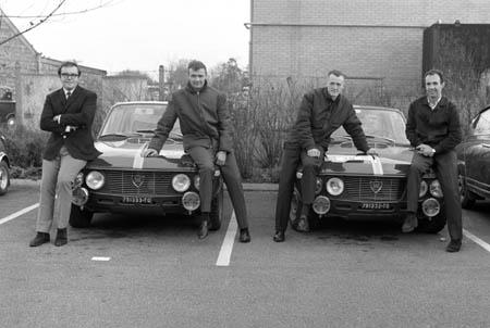 RAC-Rallye: 1966 - HF Squadra Corse mit einem Italiener (Leo Cella)