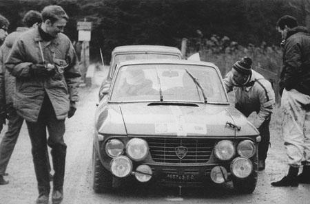 RAC-Rallye: 1968 - Aaltonen/Liddon - 1,6 HF als Prototyp - ausgeschieden