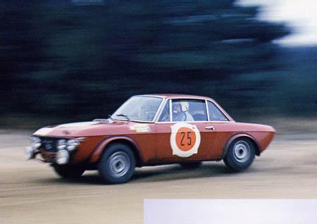 RAC-Rallye: 1968 - Källström/Haggbom mit der 1,3 HF - (warum wohl) ausgeschieden