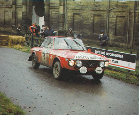 RAC-Rallye: 1972 - Källström/Haggbom - nur noch Platz 4 hinter Ford, Saab und Opel