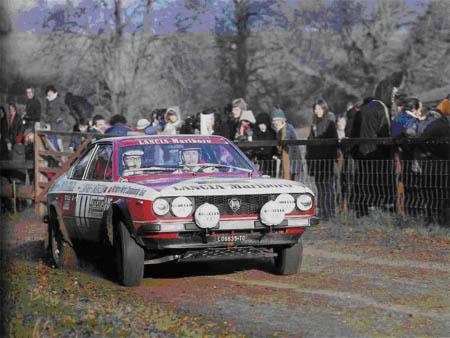 RAC-Rallye: 1974 - Lampinen/Andreasson - Platz 10, Munari auf Stratos Platz 3