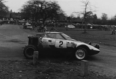 RAC-Rallye: 1975 - Waldegard/Thorzelius - wegen Zeitüberschreitung ausgeschieden