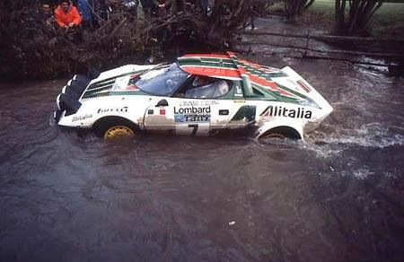 RAC-Rallye: Stratos als SUV, nur etwas schneller!