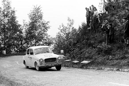 Int. Österreichische Alpenfahrt 1962 mit Lancia Appia - SP Pyramidenkogl (Kärnten)