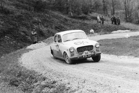 Semperit Rallye 1962 mit Lancia Appia - SP Adlitzgräben (Niederösterreich)