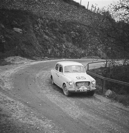 Semperit Rallye 1963 mit Lancia Appia - SP Seiberer (Niederösterreich)