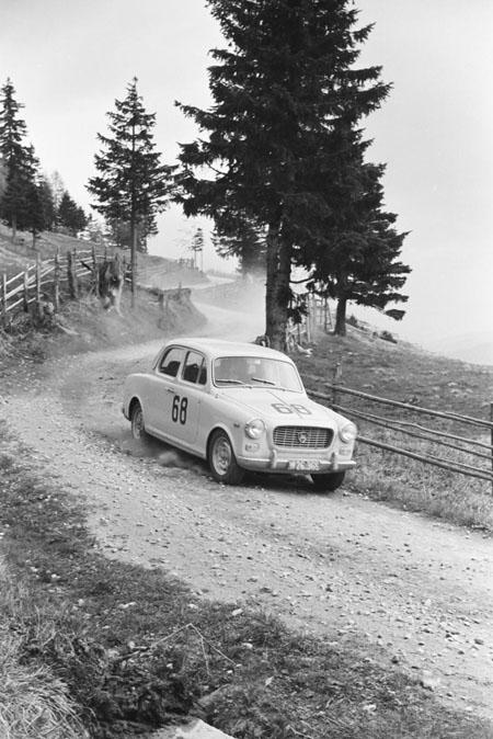 Int. Österreichische Alpenfahrt 1963 mit Lancia Appia - Kärntner Bergidylle