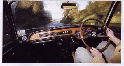 Lancia Fulvia Cockpit