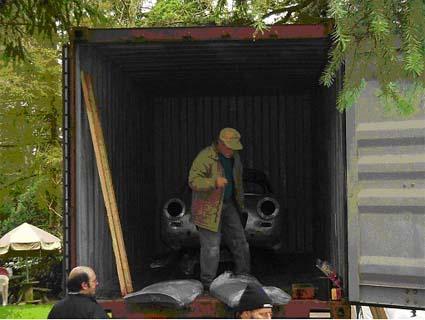Appia Zagato im Container