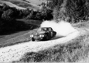 Rallyesport: München-Wien-Budapest 1966 Cella/Lombardini (Archiv TMW Wien)