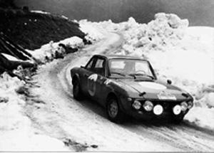 Rallyesport: Alpenfahrt 1970 - Lampinen/Davenport (Archiv TMW Wien)