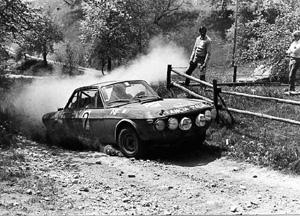 Rallyesport: Alpenfahrt 1971 - Källström/Haggbom (Archiv TMW Wien)