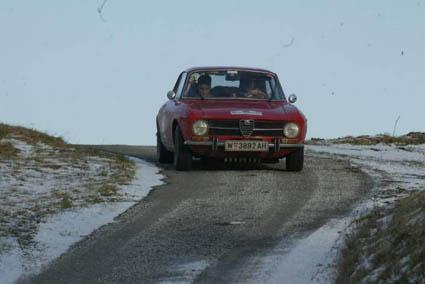 Wintertourenfahrt 2005: Es muss nicht zwingend die Autobahn sein ...