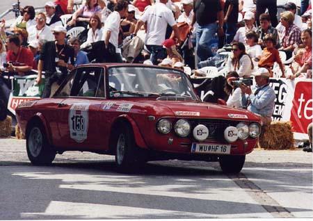 Ennstal-Classic 2005: Grand Prix in Gröbming - die wohlverdiente Kulisse für eine Fulvia