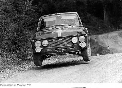 Internationale Österreichische Alpenfahrt: Alois Rottensteiners berühmtes Foto von Hannu Mikkola - Niederalpl 1968