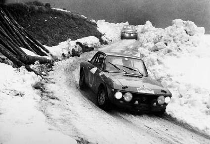 Internationale Österreichische Alpenfahrt: 1970: Lampinen/Davenport und Källström/Haggbom auf 1,6HF