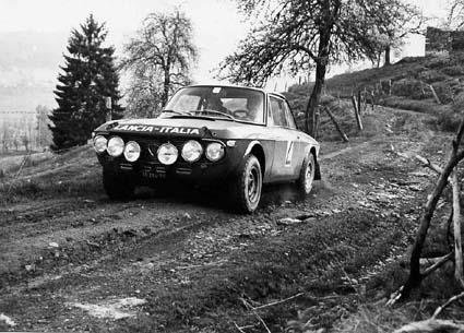 """Internationale Österreichische Alpenfahrt: 1971: Källström/Haggbom 1,6HF - im alpenfahrttypischen """"Geläuf"""""""