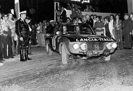 Internationale Österreichische Alpenfahrt: 1972 - Källström/Haggbom 1,6 HF - Start in Baden bei Wien