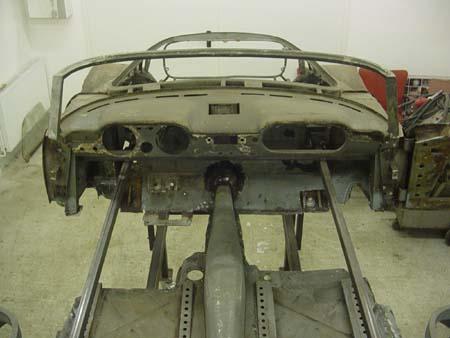 Lancia Flaminia Restaurierung: Innenansicht