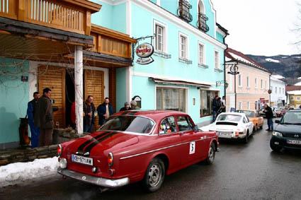 Rallye: Ysper - Gasthof 3 Hacken als Start- und Zielort, Hauptquartier