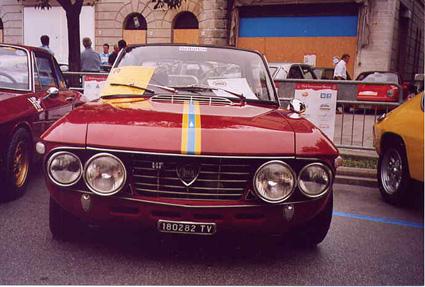 Diese Lancia Fulvia hatte Carlo Stella 2004 in Conegliano gezeigt.