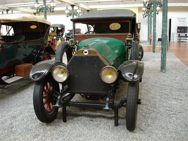 Musee Nationale d'Automobil: Torpedo Type Epsilon 1912 - 4 Zylinder, 4.080 ccm, 60 PS, 85 km/h