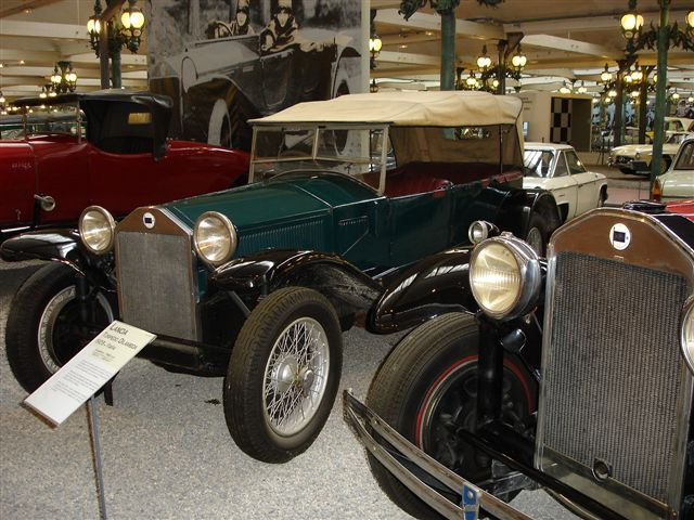 Musee Nationale d'Automobil: Torpedo Lambda 1929 - 4 Zylinder, 2.575 ccm, 69 PS, 120 km/h