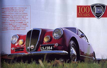 Classic and Sports Car: 100 years Lancia