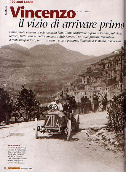 Routeclassiche: 100 anni Lancia