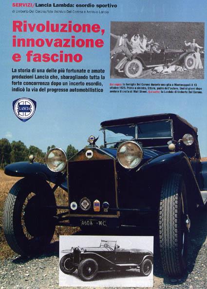 Auto d'Epoca: Lancia Lambda
