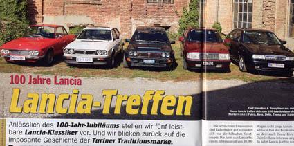 Alles Auto: 100 Jahre Lancia - Lancia-Treffen
