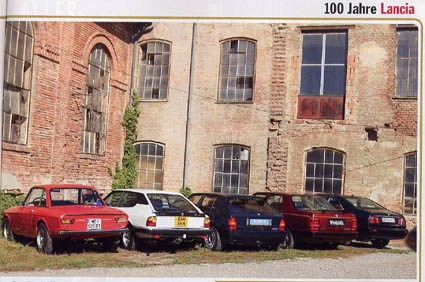 Alles Auto: 100 Jahre Lancia