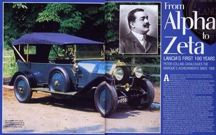 Lancia-Berichte: From Alpha to Zeta