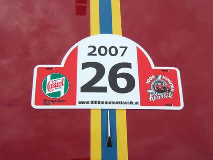 1000 Minuten Klassik 2007: Start-Nummer 26