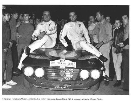 Aus dem Buch Maurice Louche, Le Tour de Corse Automobile 1956 - 1986