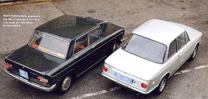 AllesAuto 12-2007: Vergleich von BMW 2002 und Lancia Fulvia Berlina GT