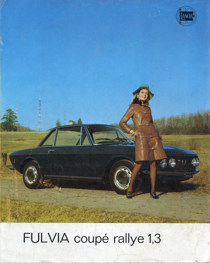 Fulvia-Dokumentation: Lancia Fulvia Coupè Rallye 1,3