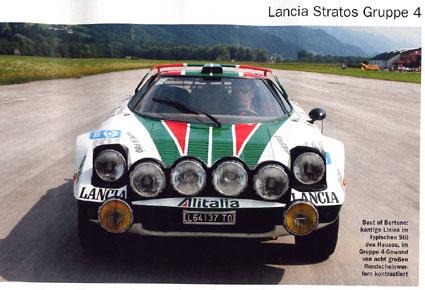 Lancia Stratos Gruppe 4