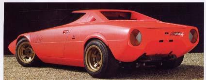 Auto-Fachzeitschrift: Lancia Stratos